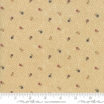 MODA FABRICS - On Meadowlark Pond - Dotted Floral Beige