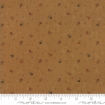MODA FABRICS - On Meadowlark Pond - Dotted Floral Rust