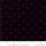 MODA FABRICS - On Meadowlark Pond - Dotted Floral Black