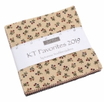 Kansas Trouble Favorites 2019 Charm Pack Moda Precuts