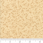 MODA FABRICS - Kansas Trouble Fav 2019 - Basic Blenders Leaves Natural - Tan