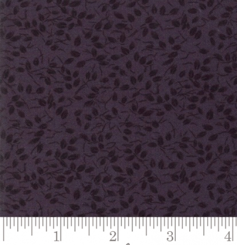 MODA FABRICS - Kansas Trouble Fav 2019 - Basic Blenders Leaves - Black