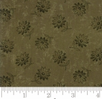 MODA FABRICS - Kansas Trouble Fav 2019 - Basic Blenders Sunflower Song - Dark Green