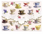 Mini Portfolios Tea Cups by Carols Rose Garden