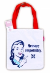 Snarky Women - Measure Responsibly Tote Bag by Moda Home