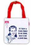 Snarky Women -  Not A Good Time Tote Bag by Moda Home