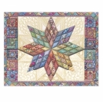 Mini Portfolios Quilted Star  by Carols Rose Garden