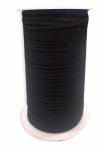 Elastic - 1/8 Inch - Black Braided - 250 yd Spool
