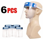 6 Pack - Face Shields