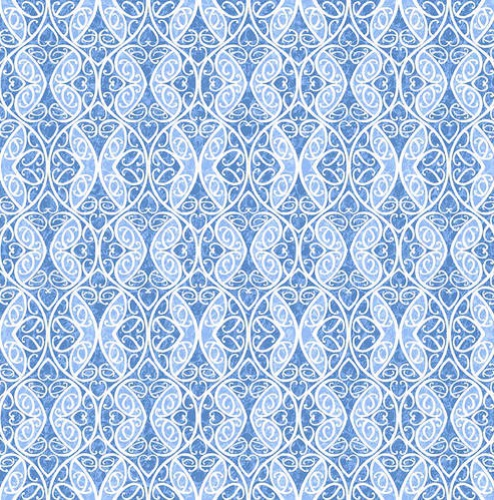 BLANK TEXTILES - Once In A Blue Mood - Med Blue - #3300-