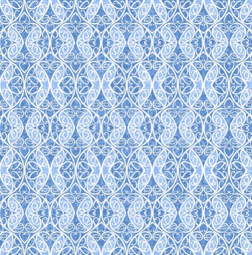 BLANK TEXTILES - Once In A Blue Mood - Med Blue