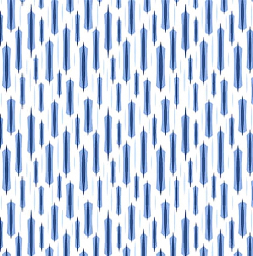 BLANK TEXTILES - Once In A Blue Mood - Lt Blue