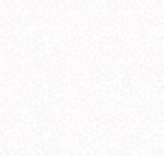 BLANK TEXTILES - Morning Mist IV - Triangles - White on White - W121-
