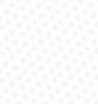 BLANK TEXTILES - Morning Mist IV - Stars - White On White - W128-