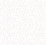 BLANK TEXTILES - Morning Mist IV - Leaves - White on White - W116-