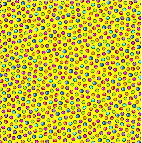 BLANK TEXTILES - Pablo Picatso - Dots Yellow