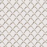 BLANK TEXTILES - Magnolia Mania - Lattice Buds - Lt Gray