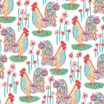 BLANK TEXTILES - Udder Chaos - Rooster White