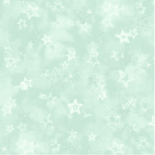 MARCUS BROTHERS - Songbook Flannel Little Star - Aqua Star