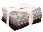 Bella Solids Black Fat Quarter Bundle Moda Precuts