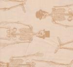 ANDOVER - Chillingsworth Spooky Ride - Skeleton Beige - SB381