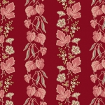 ANDOVER - Super Bloom - Edyta Sitar of Laundry Basket Quilts - Bleeding Heart - Currant