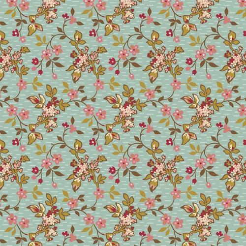 ANDOVER - Super Bloom - Edyta Sitar of Laundry Basket Quilts - Jasmine - Dakota Sky