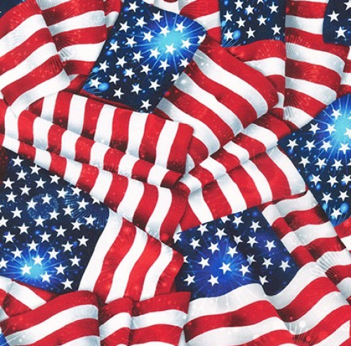 KAUFMAN - Patriots - Digital - Americana - Wide Back
