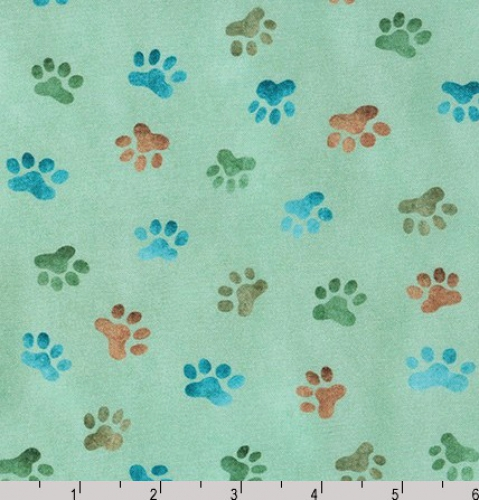 KAUFMAN - Whiskers & Tails Digital Print - Grass