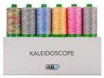 Aurifil - Kaleidoscope Thread Collection 40wt 6 Large Spools