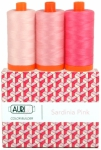 Aurifil - Sardinia Pink Color Builder 3 pcs