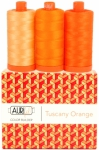 Aurifil - Tuscany Orange Color Builder 3 pcs