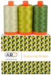 Aurifil - Dolomites Green Color Builder 3 pcs
