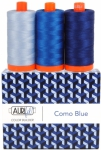 Aurifil - Como Blue Color Builder 3 pcs