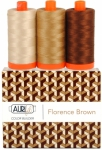 Aurifil - Florence Brown Color Builder 3 pcs