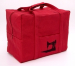 Featherweight Case Tote Bag - Red by Featherweight Shop