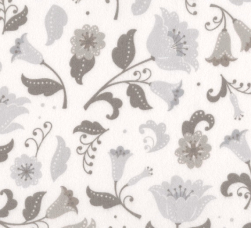 KAUFMAN - Fleurie - Flannel - Haze