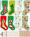 KAUFMAN - How the Grinch Stole Christmas - Holiday - Panel - PL578-