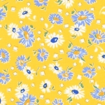 KAUFMAN - Sunshine Garden - Yellow