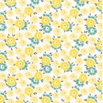 KAUFMAN - Sunshine Garden - Yellow - #1719-