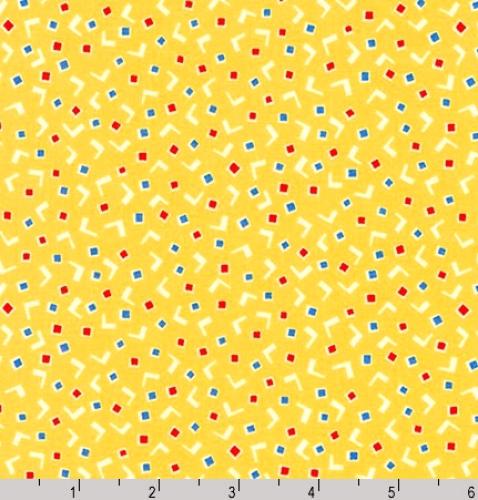 KAUFMAN - Darlenes Favorites - Yellow