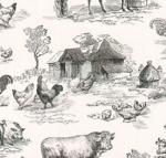 KAUFMAN - Down On The Farm Digital - Black