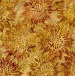 KAUFMAN - Summer Flowers - Gold - K50073-