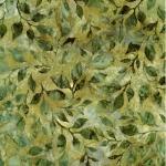 KAUFMAN - Summer Flowers - Green - K75082-