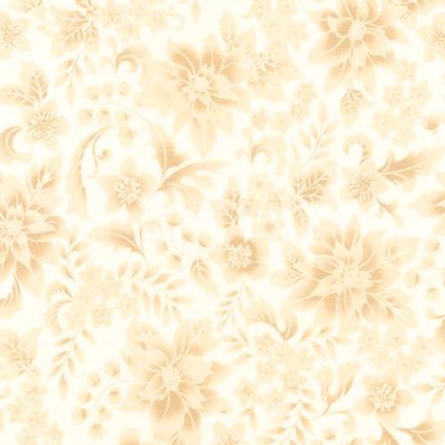 KAUFMAN - Holiday Flourish 12 - Ivory