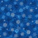 KAUFMAN - Holiday Flourish 11 - Royal