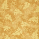 KAUFMAN - Holiday Flourish  Metallic 12 - Gold