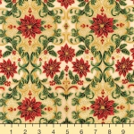 KAUFMAN - Holiday Flourish 12 - Holiday - Ivory