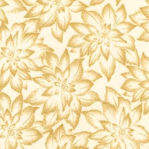 KAUFMAN - Holiday Flourish 12 - Holiday - Ivory