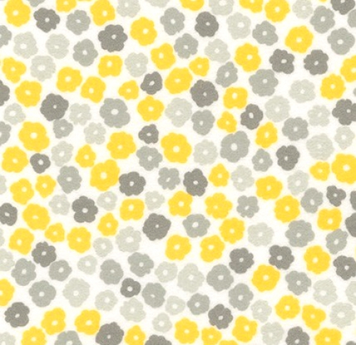 Skinny - SK3207- 1 yd - KAUFMAN - Cozy Cotton - Flannel Yellow
